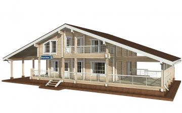 Фото #5: деревянный дом ПДБ-10 из клееного бруса купить за 10753000 (цена «Под ключ»)