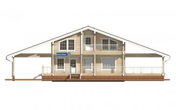 Фото #7: деревянный дом ПДБ-10 из клееного бруса купить за 10753000 (цена «Под ключ»)