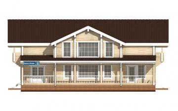 Фото #7: деревянный дом ПДБ-15 из клееного бруса купить за 17296000 (цена «Под ключ»)