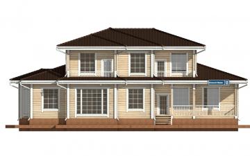 Фото #7: деревянный дом ПДБ-20 из клееного бруса купить за 15868000 (цена «Под ключ»)