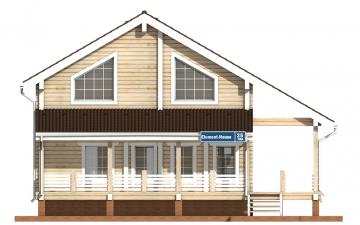 Фото #7: деревянный дом ПДБ-25 из клееного бруса купить за 9255000 (цена «Под ключ»)