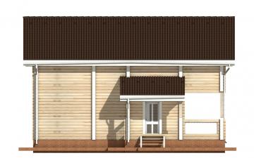 Фото #8: деревянный дом ПДБ-13 из клееного бруса купить за 8773000 (цена «Под ключ»)