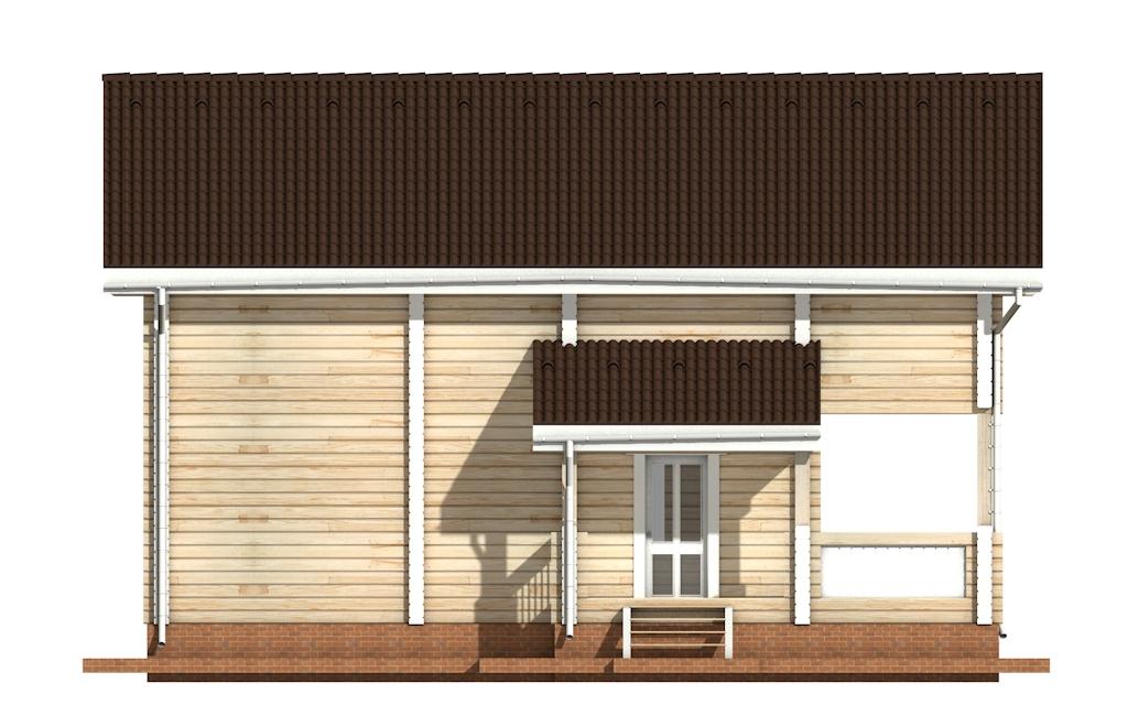 Фото #7: деревянный дом ПДБ-13 из клееного бруса купить за 8773000 (цена «Под ключ»)