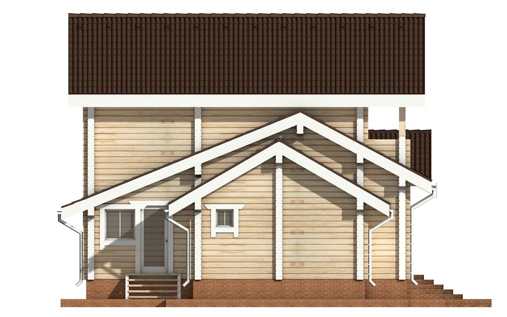 Фото #7: деревянный дом ПДБ-22 из клееного бруса купить за 11225000 (цена «Под ключ»)