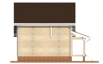Фото #8: деревянный дом ПДБ-25 из клееного бруса купить за 9255000 (цена «Под ключ»)