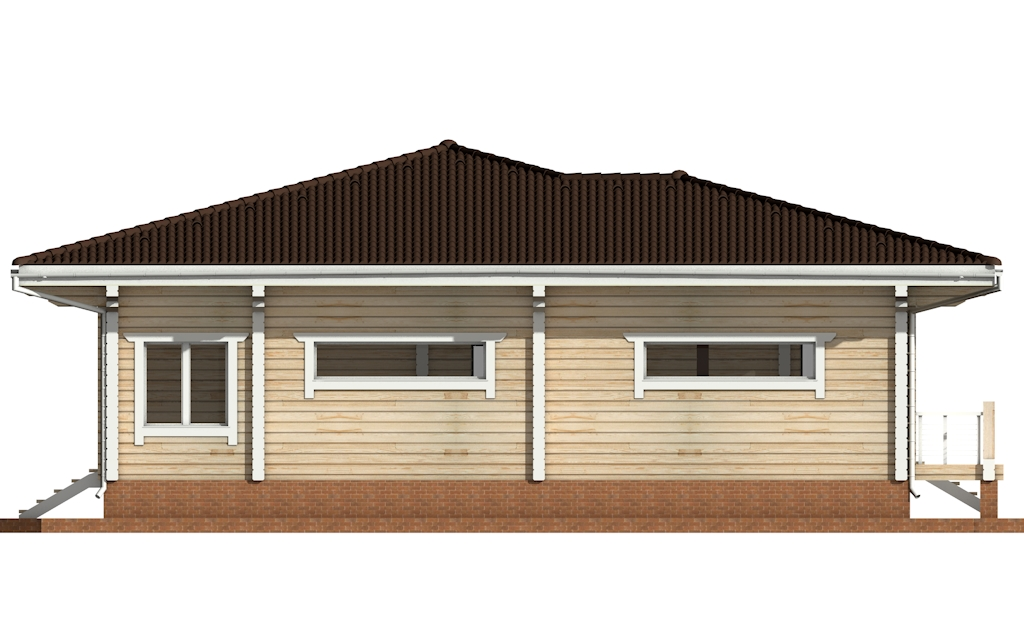 Фото #6: деревянный дом ПДБ-26 из клееного бруса купить за 10000000 (цена «Под ключ»)