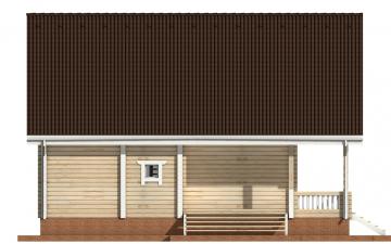 Фото #8: деревянный дом ПДБ-30 из клееного бруса купить за 10828000 (цена «Под ключ»)