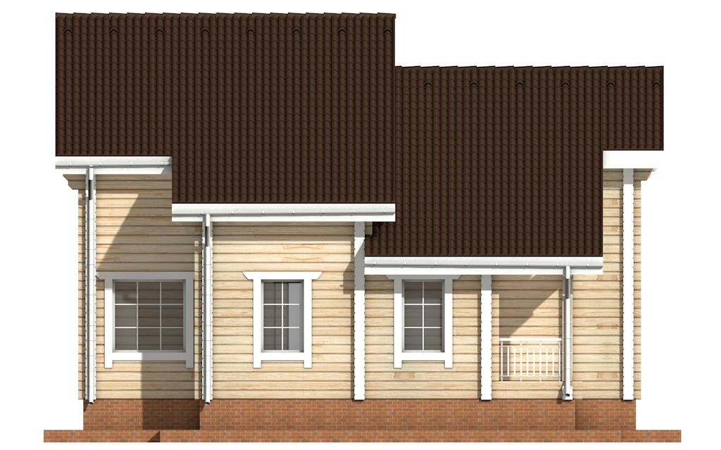 Фото #7: деревянный дом ПДБ-31 из клееного бруса купить за 10892000 (цена «Под ключ»)