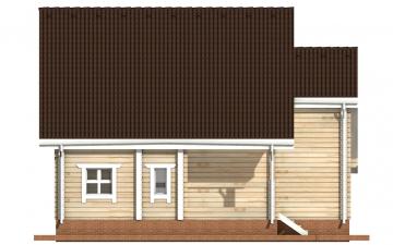 Фото #8: деревянный дом ПДБ-1 из клееного бруса купить за 9637000 (цена «Под ключ»)