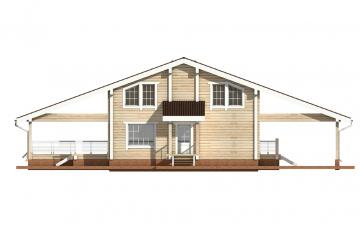 Фото #9: деревянный дом ПДБ-10 из клееного бруса купить за 10753000 (цена «Под ключ»)