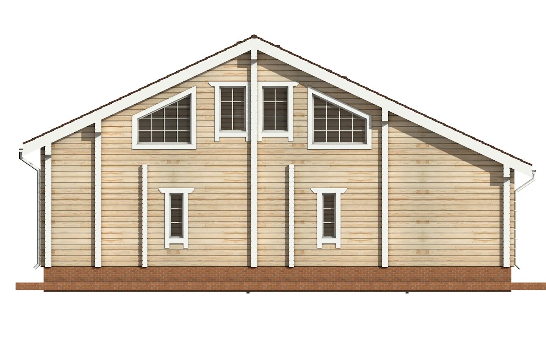 Фото #8: деревянный дом ПДБ-19 из клееного бруса купить за 11807000 (цена «Под ключ»)
