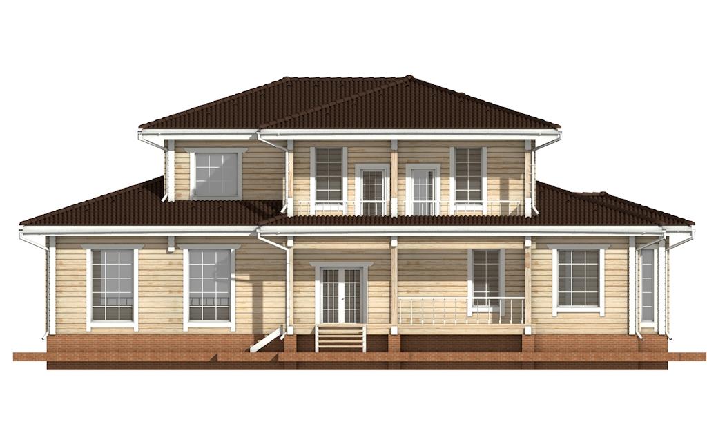 Фото #8: деревянный дом ПДБ-20 из клееного бруса купить за 15868000 (цена «Под ключ»)