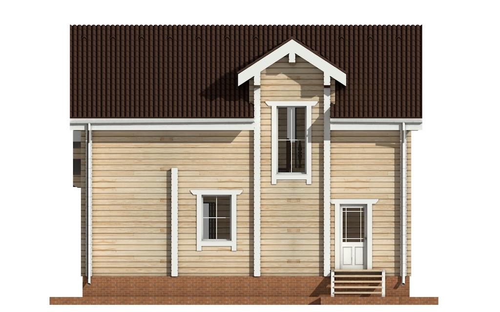 Фото #8: деревянный дом ПДБ-21 из клееного бруса купить за 9469000 (цена «Под ключ»)