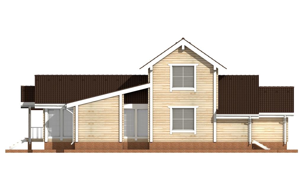 Фото #8: деревянный дом ПДБ-22 из клееного бруса купить за 11225000 (цена «Под ключ»)