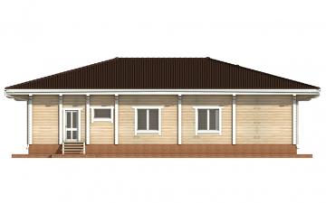 Фото #9: деревянный дом ПДБ-26 из клееного бруса купить за 10000000 (цена «Под ключ»)