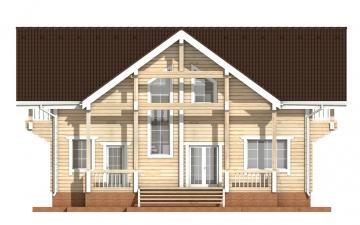 Фото #9: деревянный дом ПДБ-29 из клееного бруса купить за 12475000 (цена «Под ключ»)