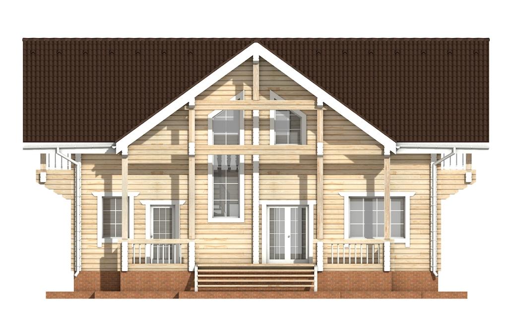 Фото #8: деревянный дом ПДБ-29 из клееного бруса купить за 12475000 (цена «Под ключ»)