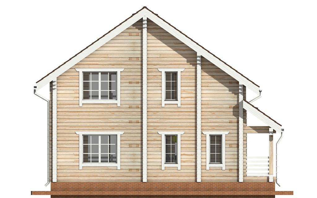 Фото #8: деревянный дом ПДБ-3 из клееного бруса купить за 9321000 (цена «Под ключ»)