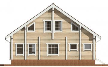 Фото #9: деревянный дом ПДБ-30 из клееного бруса купить за 10828000 (цена «Под ключ»)