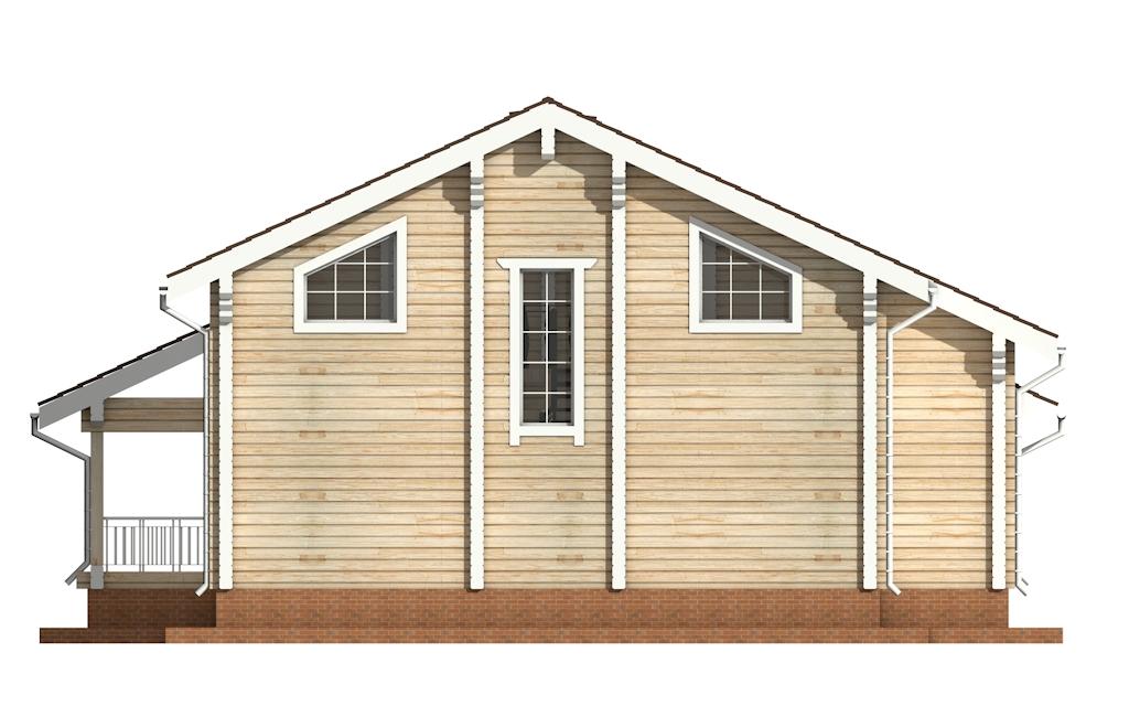 Фото #8: деревянный дом ПДБ-31 из клееного бруса купить за 10892000 (цена «Под ключ»)