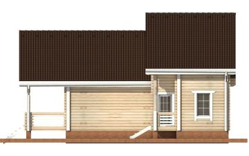 Фото #10: деревянный дом ПДБ-19 из клееного бруса купить за 11807000 (цена «Под ключ»)