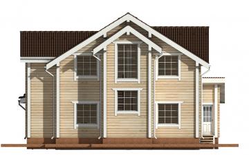 Фото #10: деревянный дом ПДБ-24 из клееного бруса купить за 14757000 (цена «Под ключ»)
