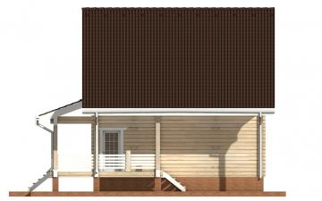 Фото #10: деревянный дом ПДБ-25 из клееного бруса купить за 9255000 (цена «Под ключ»)