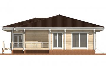 Фото #10: деревянный дом ПДБ-26 из клееного бруса купить за 10000000 (цена «Под ключ»)
