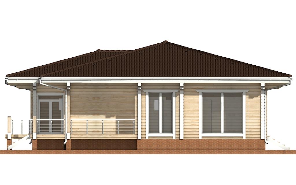 Фото #8: деревянный дом ПДБ-26 из клееного бруса купить за 10000000 (цена «Под ключ»)