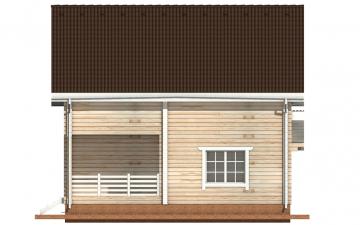 Фото #10: деревянный дом ПДБ-3 из клееного бруса купить за 9321000 (цена «Под ключ»)