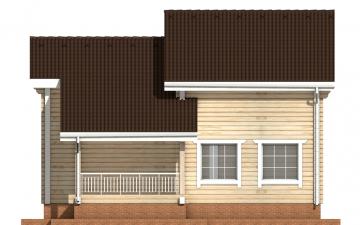 Фото #10: деревянный дом ПДБ-31 из клееного бруса купить за 10892000 (цена «Под ключ»)