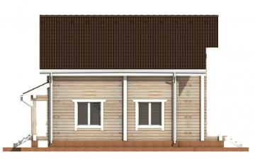 Фото #10: деревянный дом ПДБ-32 из клееного бруса купить за 6195000 (цена «Под ключ»)