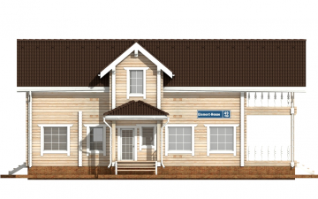 Фото #7: деревянный дом ПДБ-49 из клееного бруса купить за 9892000 (цена «Под ключ»)