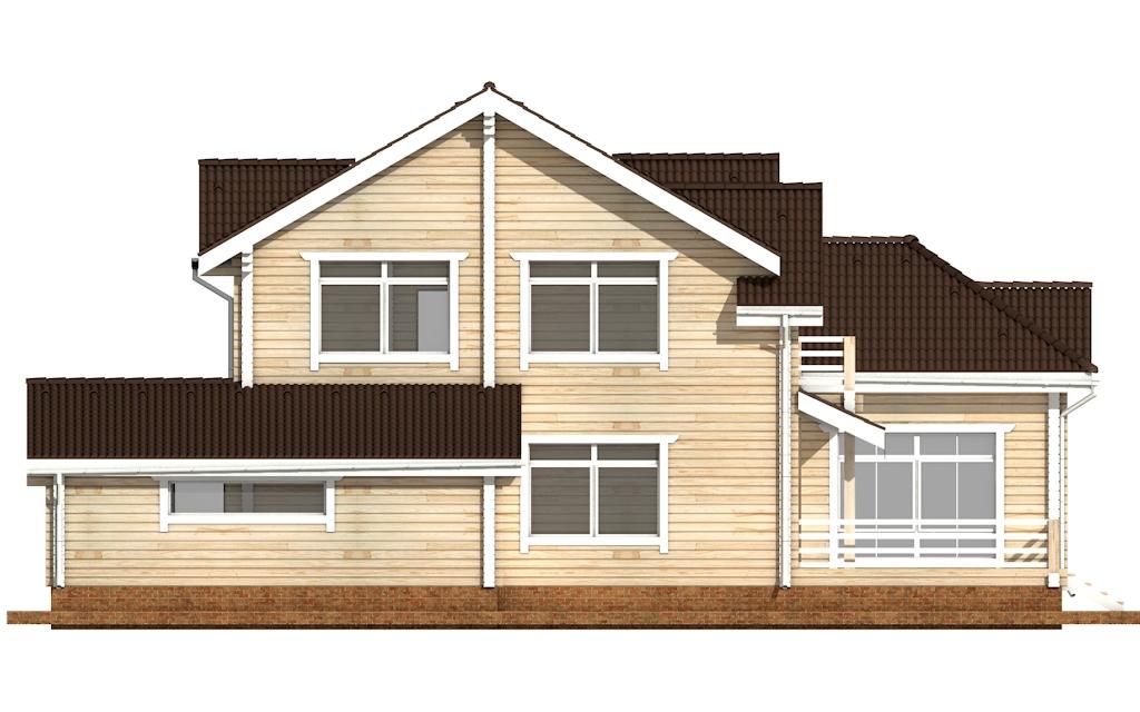 Фото #7: деревянный дом ПДБ-45 из клееного бруса купить за 18689000 (цена «Под ключ»)
