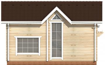 Фото #8: деревянный дом ПДБ-48 из клееного бруса купить за 4465000 (цена «Под ключ»)