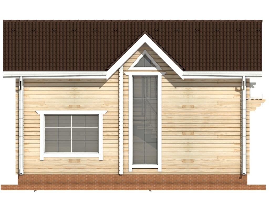 Фото #7: деревянный дом ПДБ-48 из клееного бруса купить за 4465000 (цена «Под ключ»)