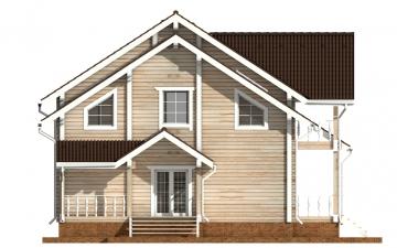 Фото #8: деревянный дом ПДБ-50 из клееного бруса купить за 14985000 (цена «Под ключ»)