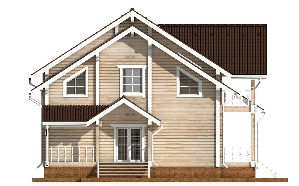 Фото #7: деревянный дом ПДБ-50 из клееного бруса купить за 14985000 (цена «Под ключ»)