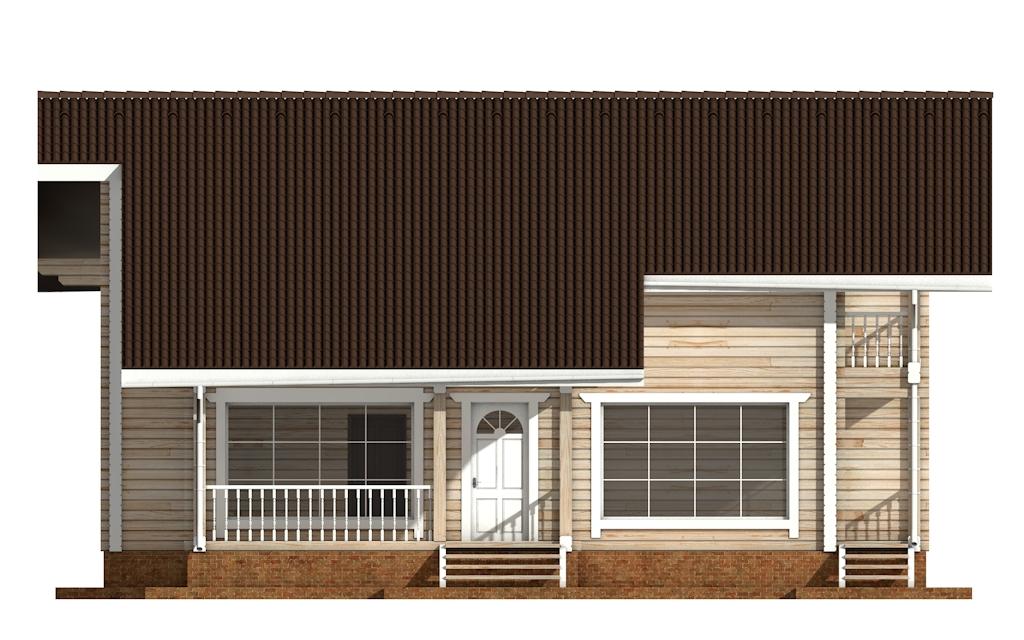 Фото #7: деревянный дом ПДБ-55 из клееного бруса купить за 11957000 (цена «Под ключ»)