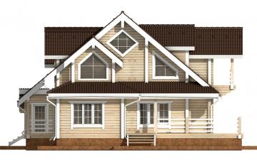 Фото #8: деревянный дом ПДБ-38 из клееного бруса купить за 15922000 (цена «Под ключ»)