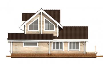 Фото #8: деревянный дом ПДБ-40 из клееного бруса купить за 13232000 (цена «Под ключ»)