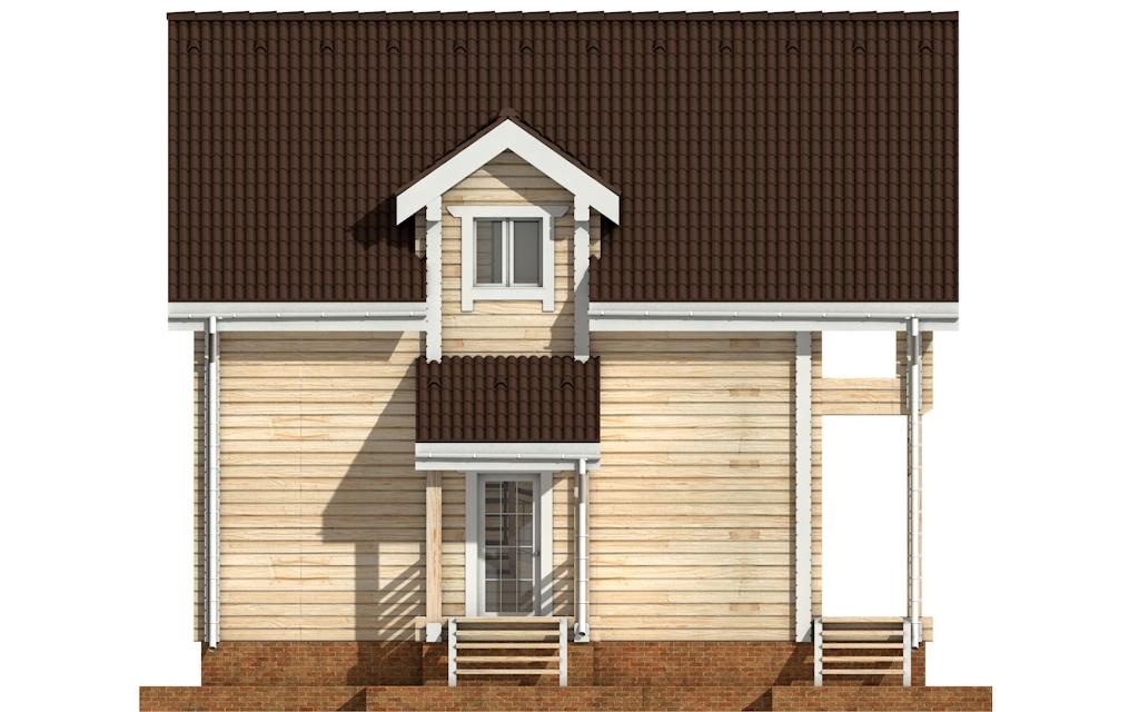 Фото #7: деревянный дом ПДБ-33 из клееного бруса купить за 9467000 (цена «Под ключ»)