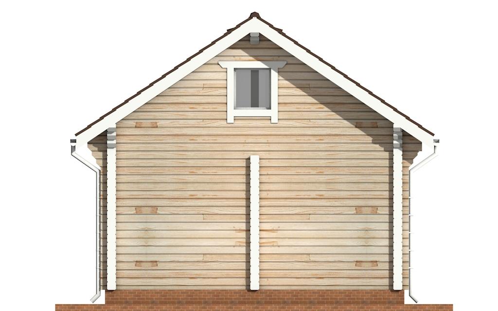Фото #8: деревянный дом ПДБ-56 из клееного бруса купить за 4483000 (цена «Под ключ»)