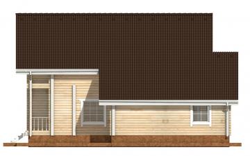 Фото #10: деревянный дом ПДБ-34 из клееного бруса купить за 13915000 (цена «Под ключ»)