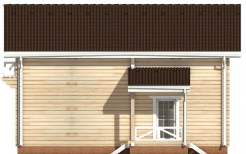 Фото #10: деревянный дом ПДБ-48 из клееного бруса купить за 4465000 (цена «Под ключ»)