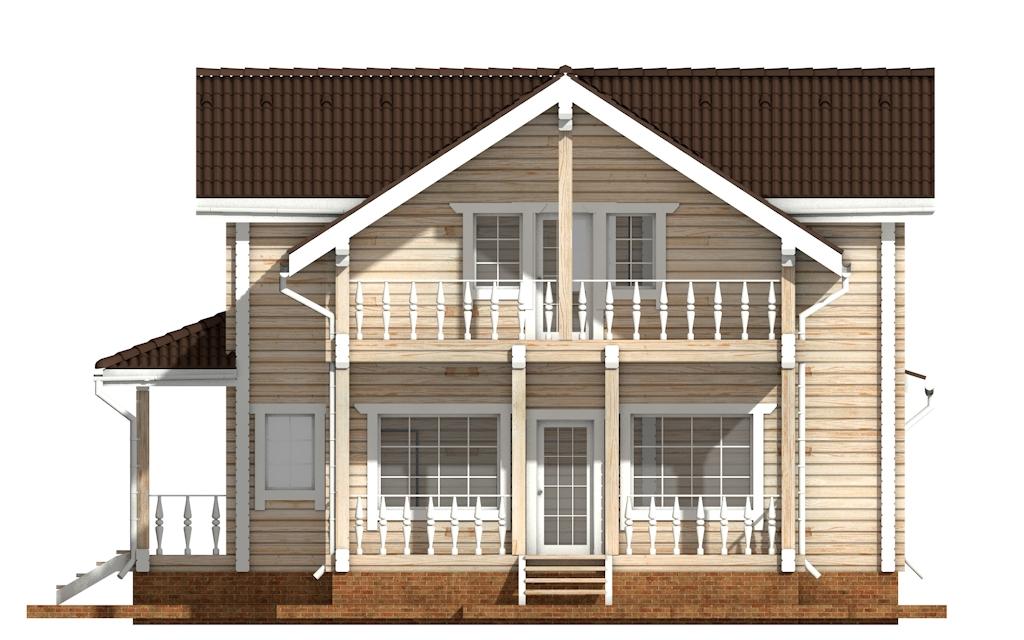 Фото #9: деревянный дом ПДБ-49 из клееного бруса купить за 9892000 (цена «Под ключ»)