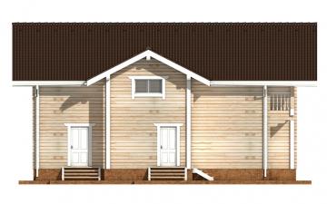 Фото #10: деревянный дом ПДБ-55 из клееного бруса купить за 11957000 (цена «Под ключ»)