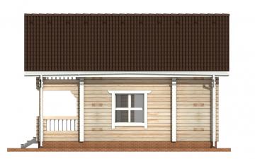 Фото #10: деревянный дом ПДБ-56 из клееного бруса купить за 4483000 (цена «Под ключ»)