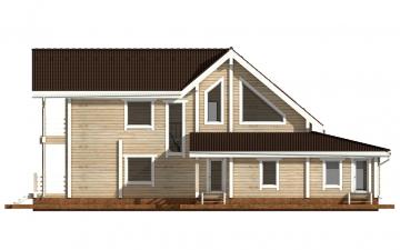 Фото #10: деревянный дом ПДБ-42 из клееного бруса купить за 17628000 (цена «Под ключ»)