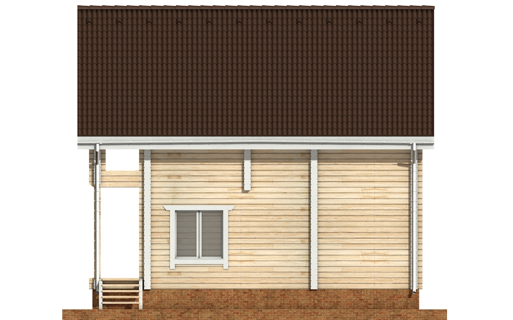 Фото #9: деревянный дом ПДБ-33 из клееного бруса купить за 9467000 (цена «Под ключ»)